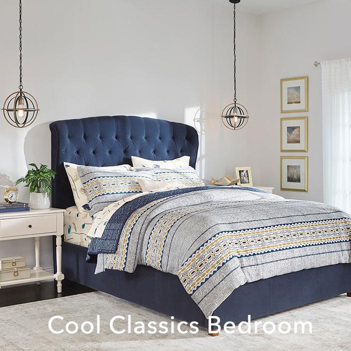 Cool Classics Bedroom