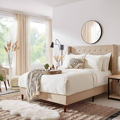 Seeking Alexi Bedroom Styling