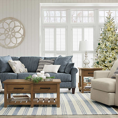 Festive Flair Living Room