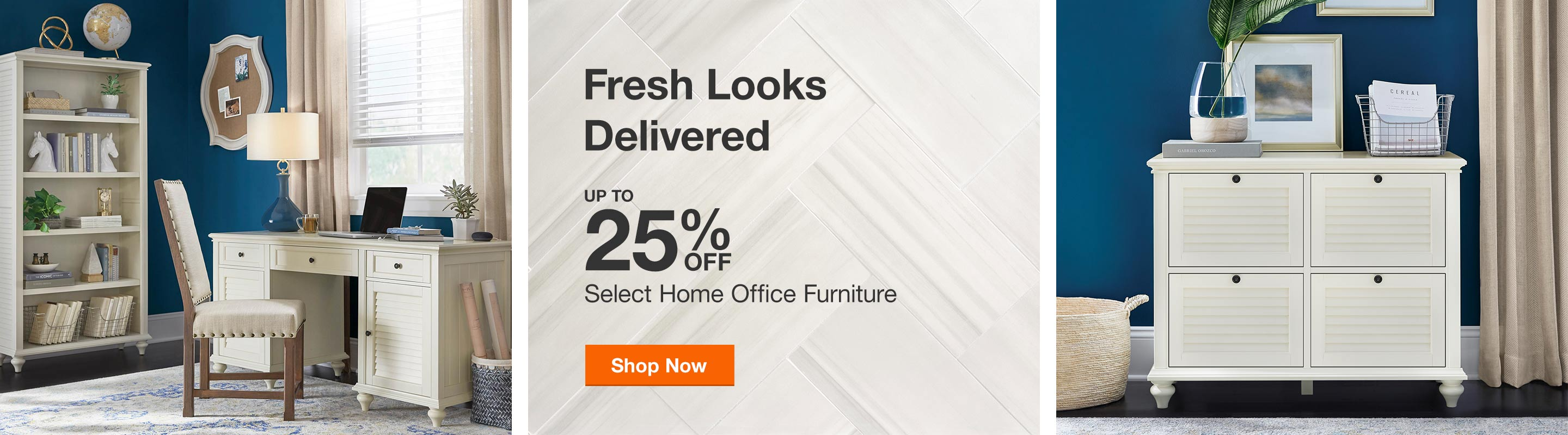 Up to 25% Off Select Home Office