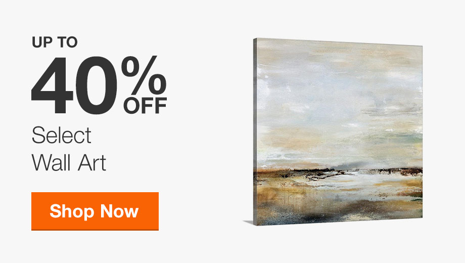 Up to 40% off Select Wall Art
