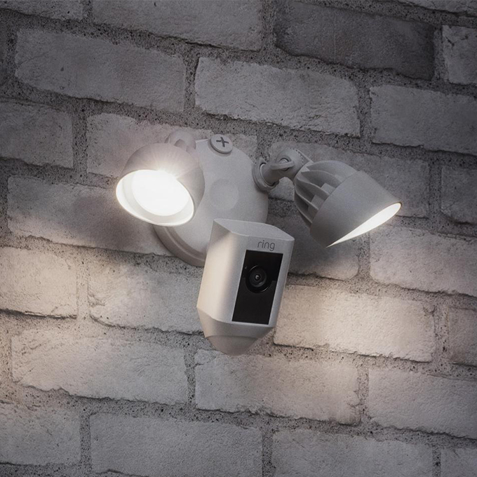 Smart Home Enabled Outdoor Lighting