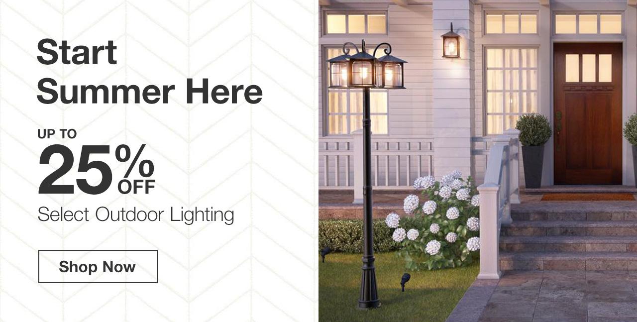Outdoor Lighting Lighting The Home Depot