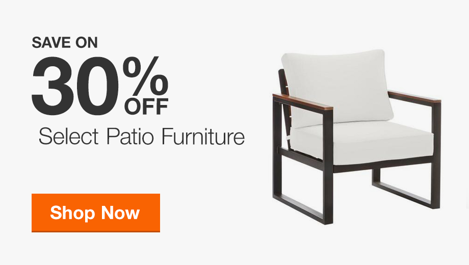 Up to 30% off Select Patio Furniture