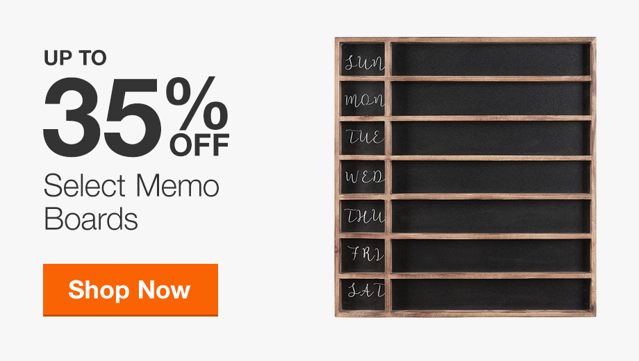 Up to 35% Off Memo Boards