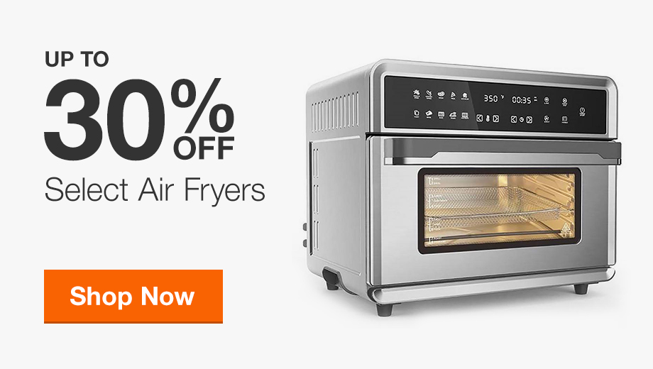Up to 30% Off Air Fryers