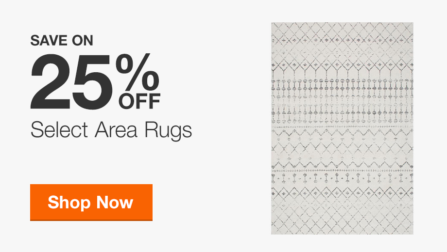 Up to 25% Off Area Rugs