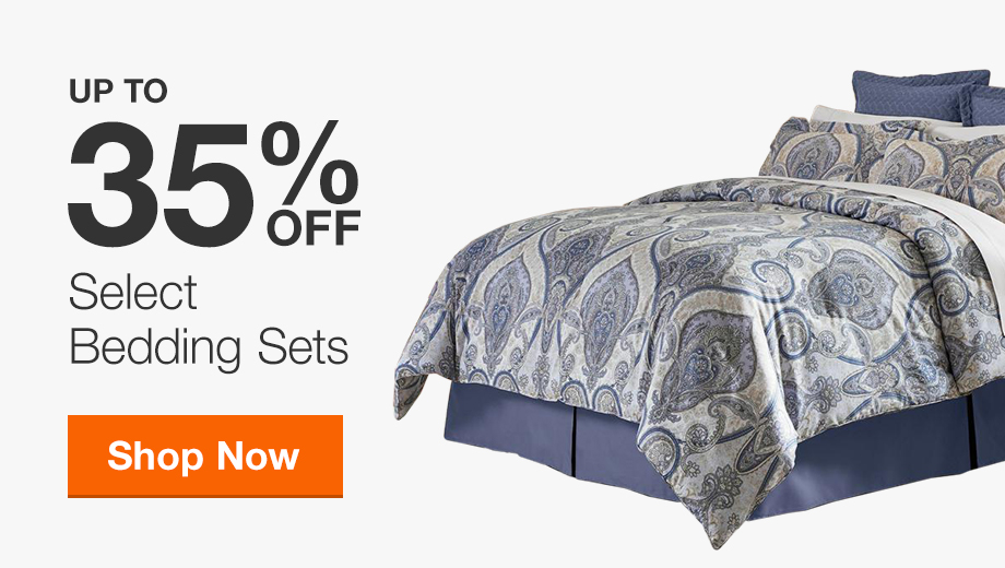 Up to 35% Off Select Bedding Sets