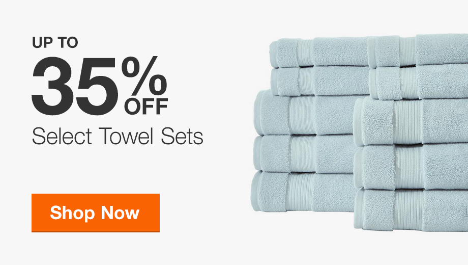 Up to 35% Off Select Towel Sets