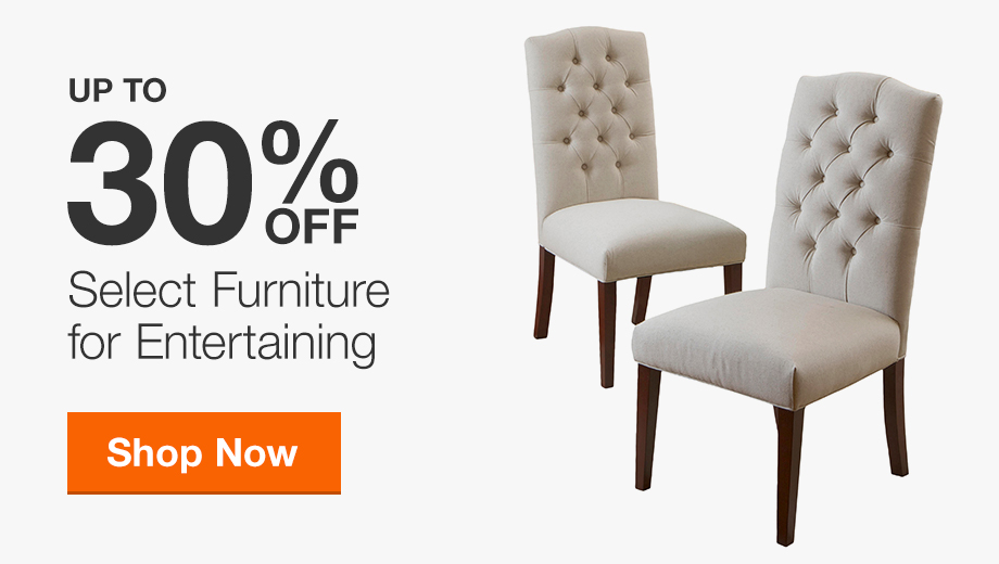 Up to 35% Off Select Furniture for Entertaining