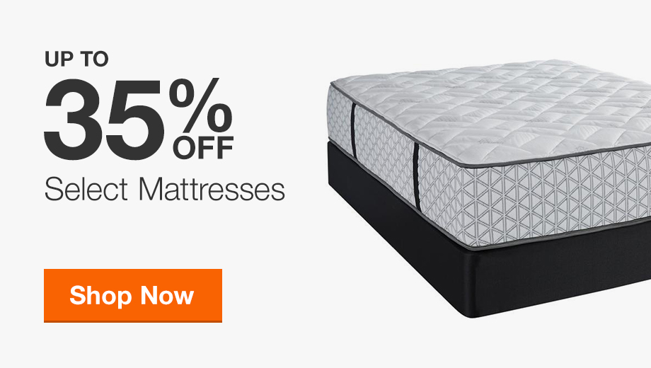 Up to 35% Off Select Mattresses