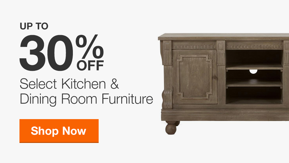 35% Off Select Kitchen and Dining Room Furniture
