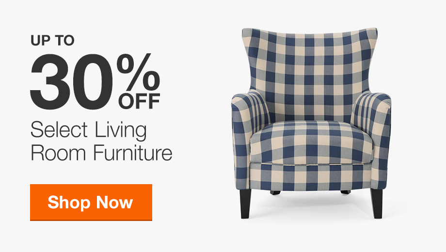 35% Off Select Living Room Furniture