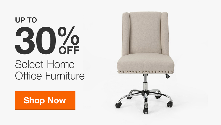 30% Off Select Home Office Furniture