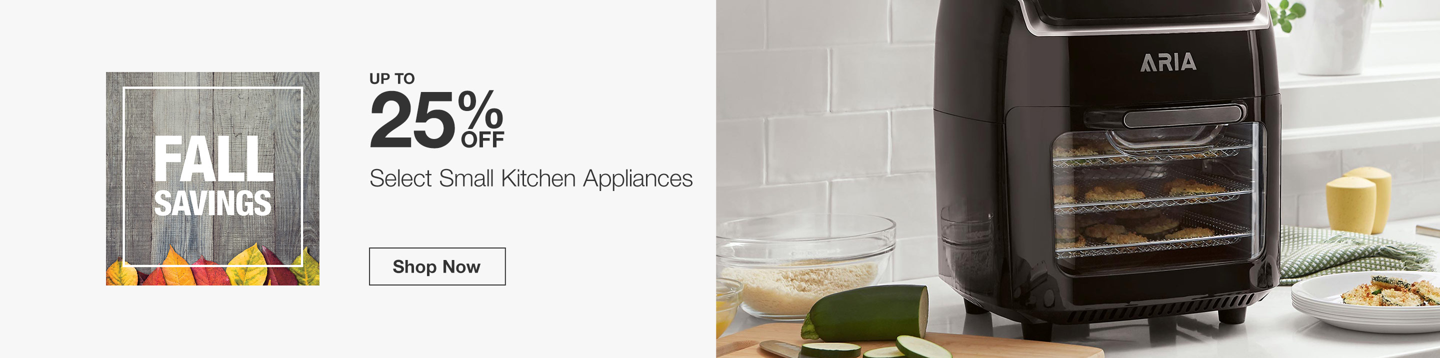 Up to 25% Off Select Small Kitchen Appliances