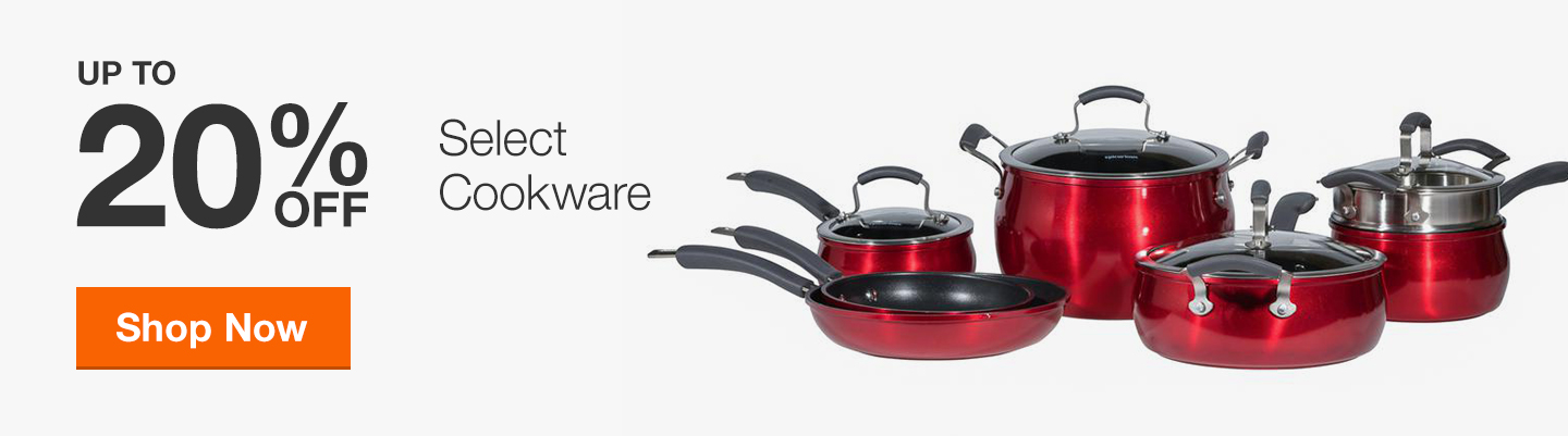 20% Off Select Cookware