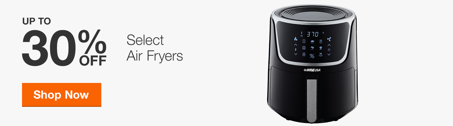 Up to 30% Off Select Air Fryers