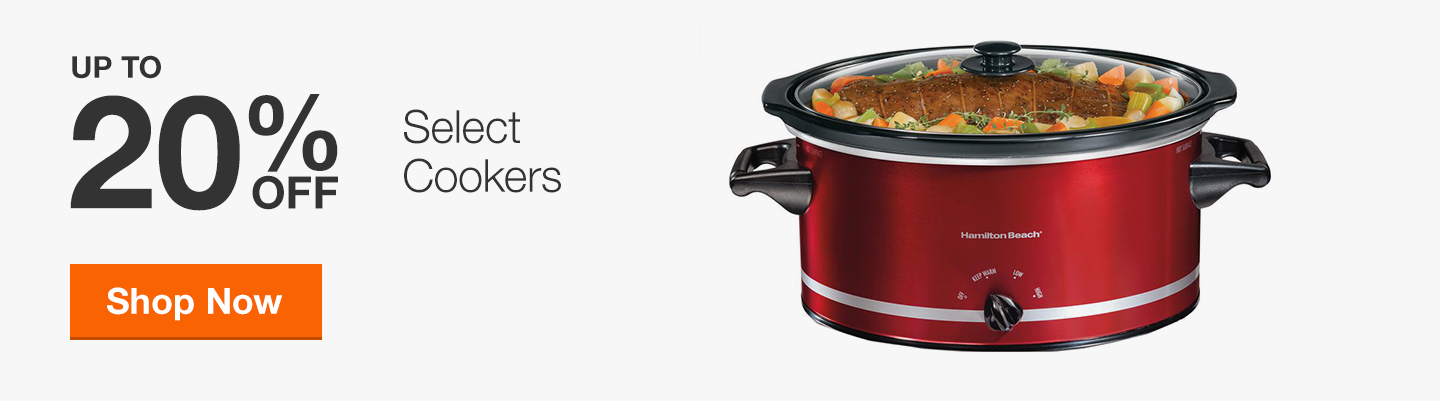 Up to 20% Off Select Cookers
