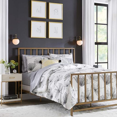 Bold Bungalow Bedroom