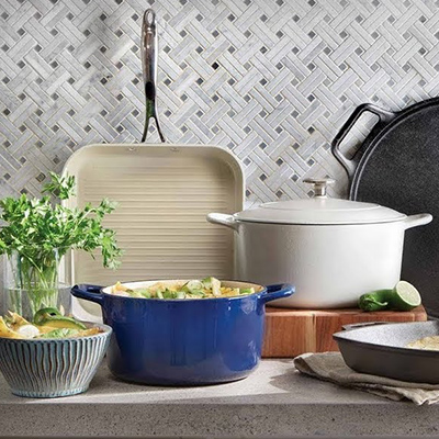 Eclectic Voyage Cookware