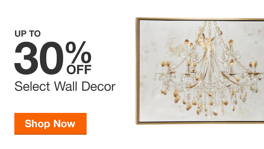 Up to 30% off Select Wall Decor