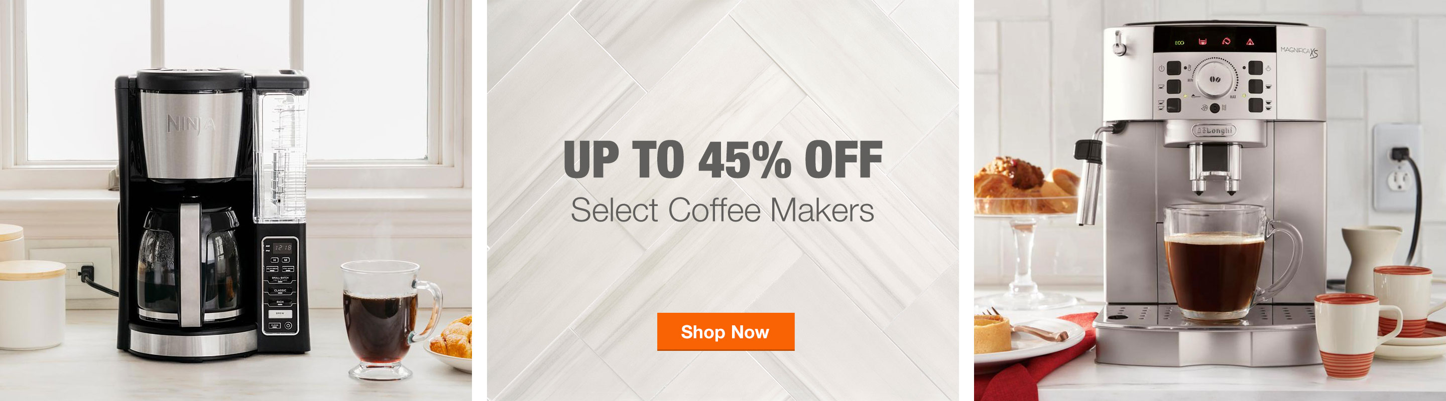 Up to 45% Off Select Coffee Makers