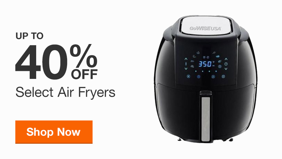 Up to 40% Off Air Fryers