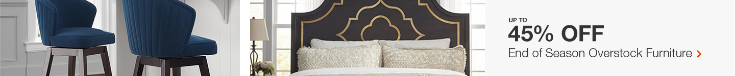 Up to 45% Off End Of Season Overstock Furniture