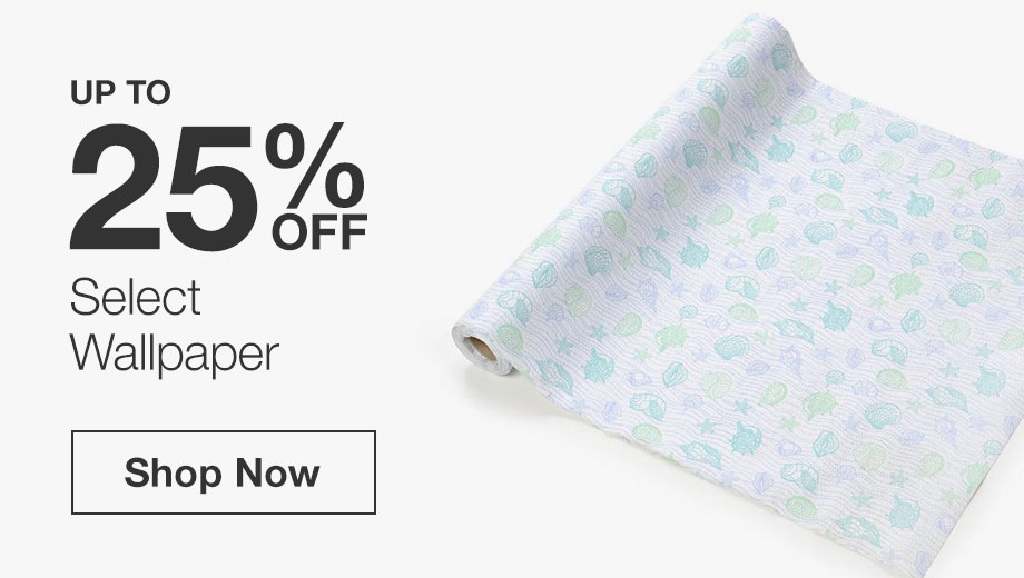 Up to 25% Off Select Wallpaper