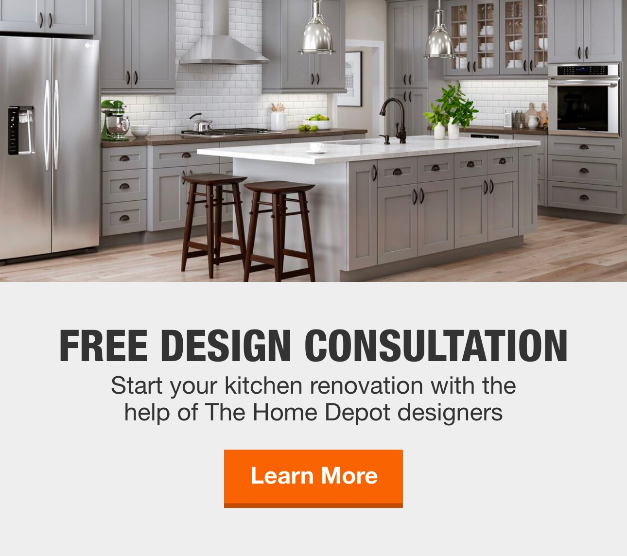 Kitchens At The Home Depot