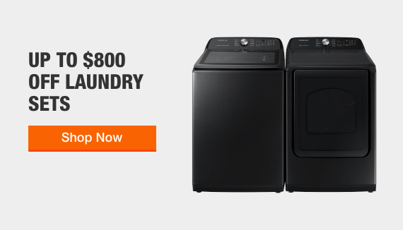 Up to $800 Off Laundry Sets