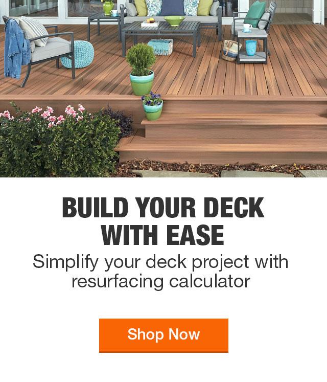 Decking Deck Building Materials The Home Depot