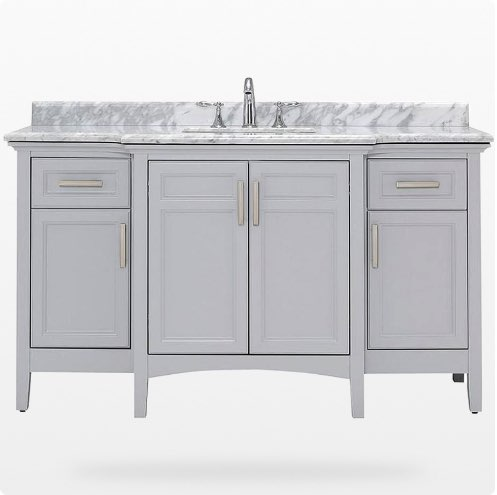 Bath vanities 60 inches or wider