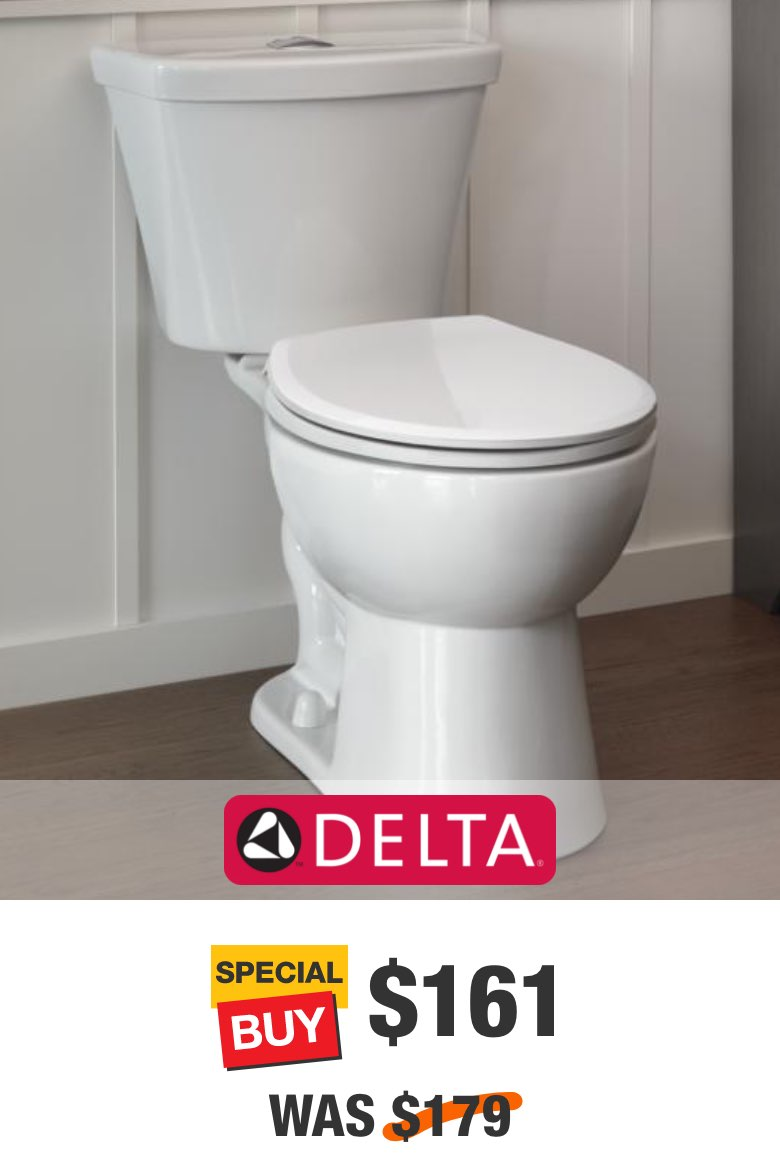 Turner 2-Piece Dual Flush Round Toilet in White