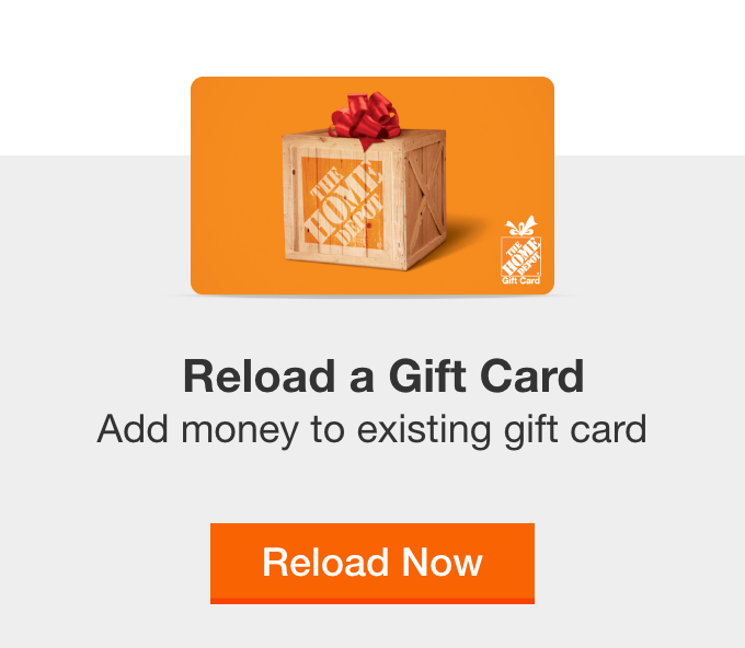 Reload a Gift Card
