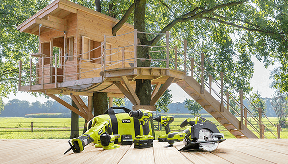 RYOBI ONE+ 18-VOLT BATTERY POWERS OVER 125 TOOLS