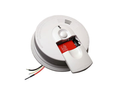 Hardwired smoke detectors