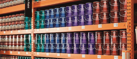 Merchandising Supplier - paint aisle