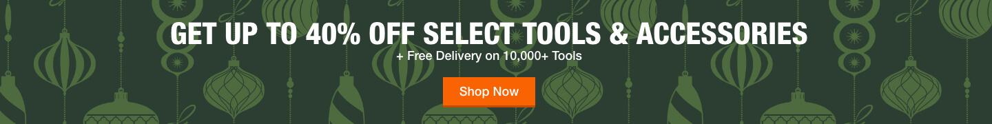 Up To 40% Off Select Tools & Accessories + Free 2-Day Delivery on Most Tools
