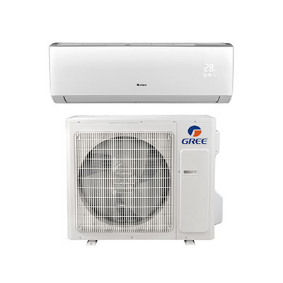 Mini split with heat pump