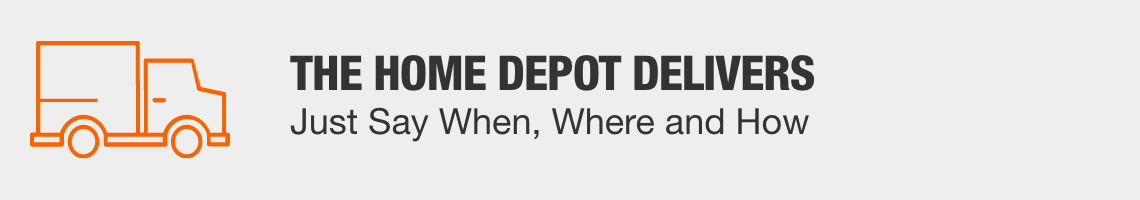 The Home Depot delivers