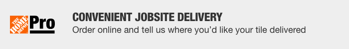 Convenient Jobsite Delivery