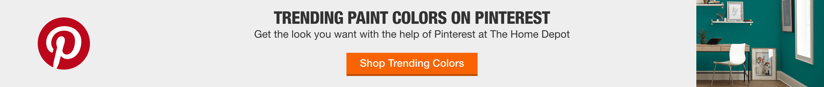 Trending Paint colors on Pinterest Get the look you want with the help of Pinterest at The Home Depot
