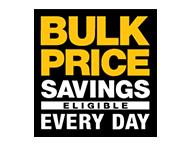 Bulk pricing