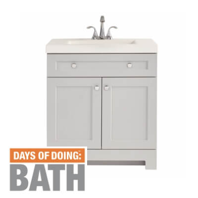 Up to 40% off select bath