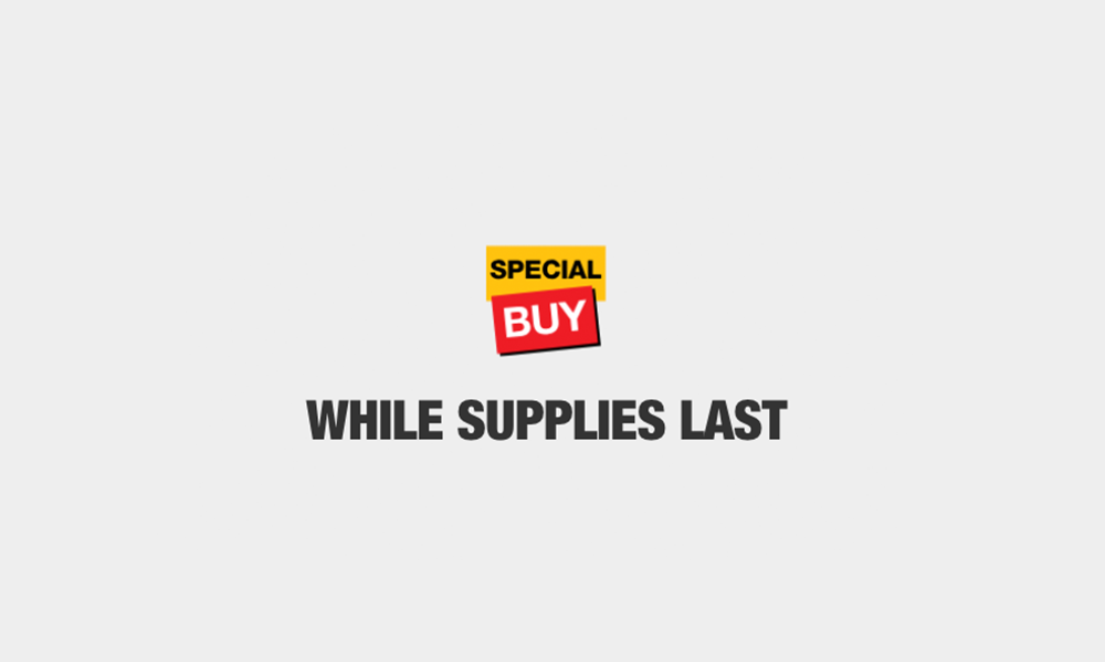 Special Buy In-Store Only