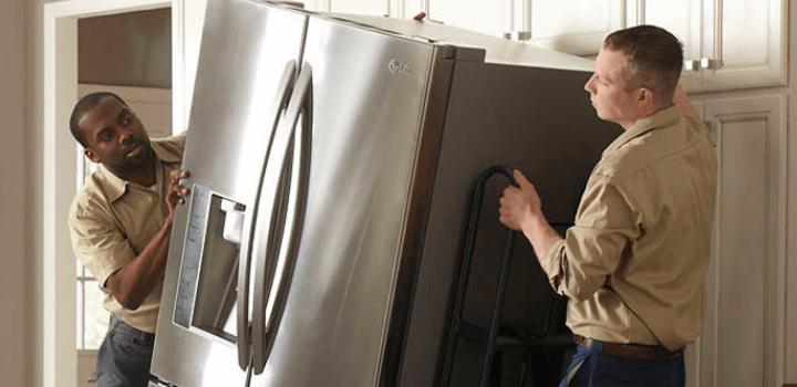 Get your refrigerator delivered & installed