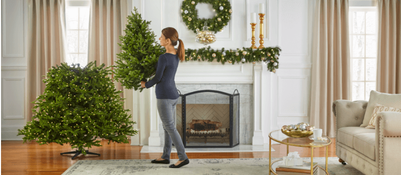 Put your tree together in 10 minutes or less