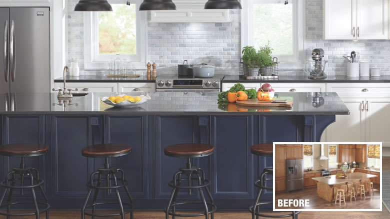 Cost To Reface Cabinets The Home Depot