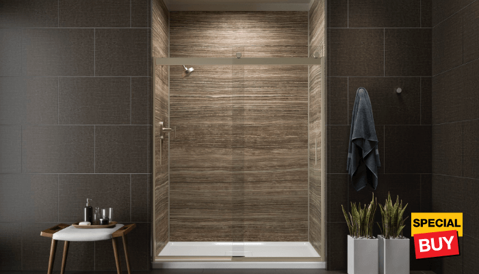 Bath savings  and shower doorsShower